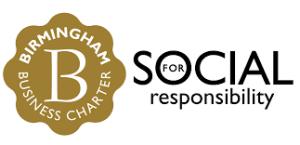 birmingham business charter for social responsibility logo